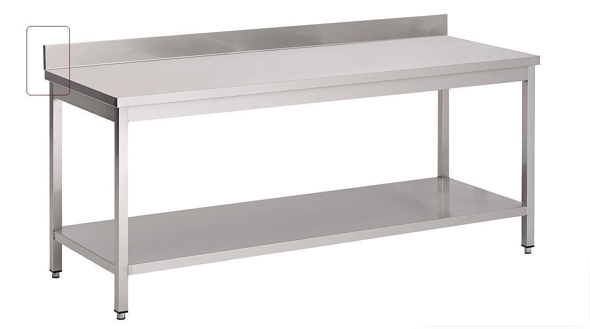 arbeitstisch 160x60 cm edelstahltisch tisch edelstahl. Black Bedroom Furniture Sets. Home Design Ideas